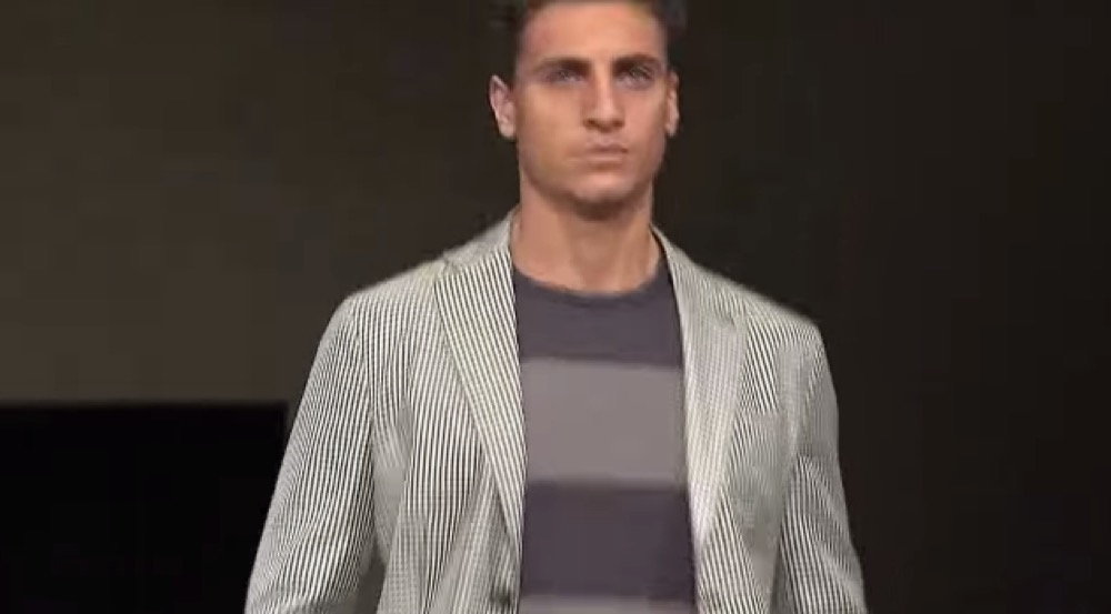 【Giorgio Armani - 2015 Spring Summer Menswear Collection】