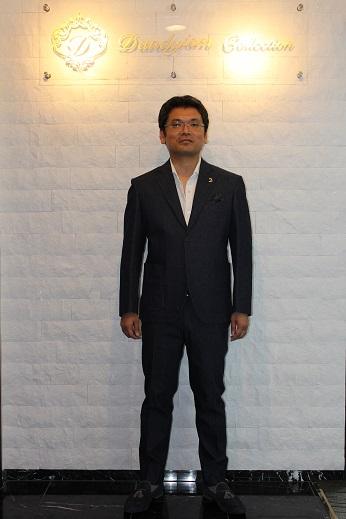 加藤デニムスーツ