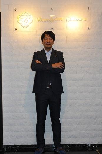 横山デニムスーツ