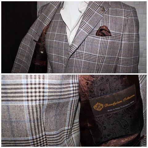 ゼニア(TROFEO CASHMERE トロフェオ カシミヤ)のジャケット2