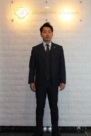 佐野デニムスーツ