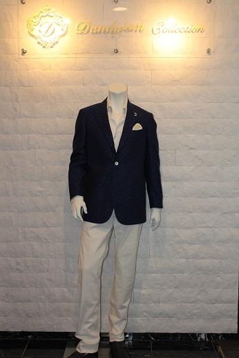 ジャガード柄のゼニアのジャケット2