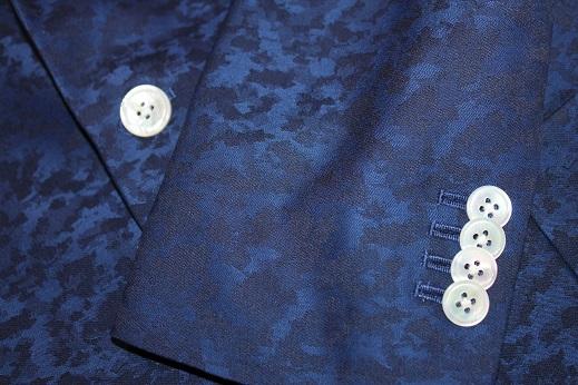 ジャガード柄のゼニアのジャケット8