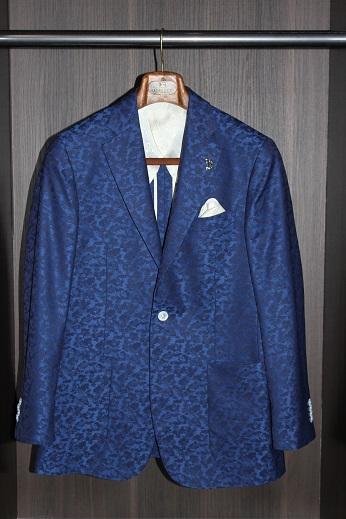 ジャガード柄のゼニアのジャケット4