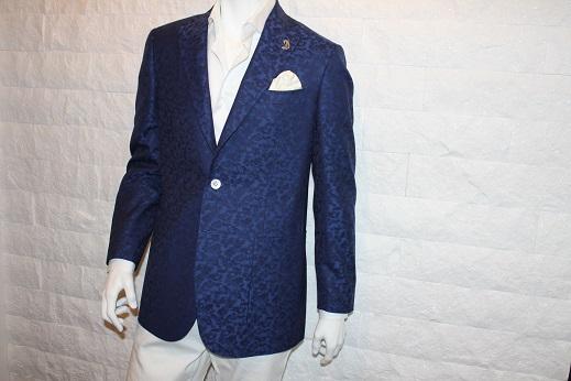 ジャガード柄のゼニアのジャケット3