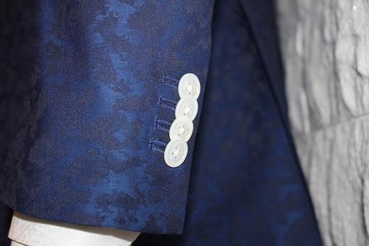 ジャガード柄のゼニアのジャケットはオシャレ2