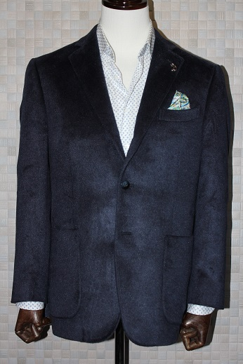ゼニアsilk100%のジャケット3