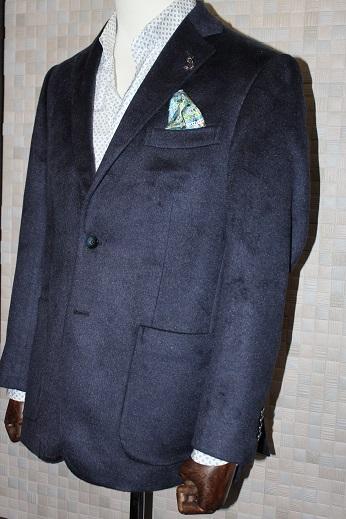 ゼニアsilk100%のジャケット