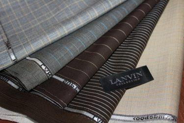 LANVIN(ランバン)のスーツ生地