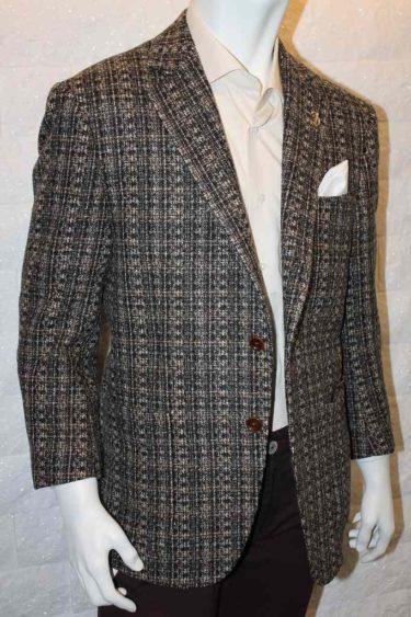 紳士の装い・英国ツィード生地モテジャケ®・ブラウン