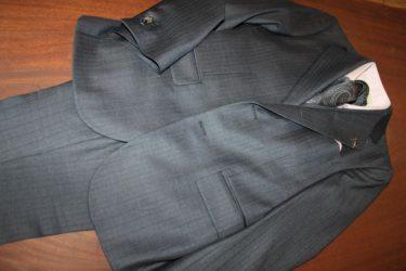 ゼニアエレクタ・グレーストライプ3pスーツ