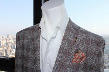 紳士のためのカジュアルジャケットはゼニア・アニオナのブラウンチェックが正解!