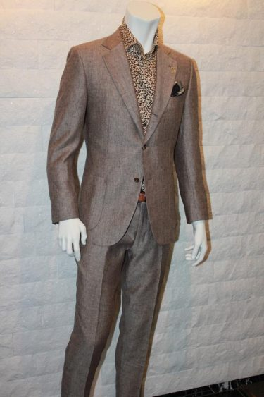 ■Italy-fabric-brown-setup-suits■