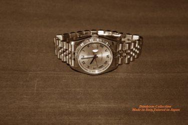 定番のダンディズムあふれる腕時計といえば?