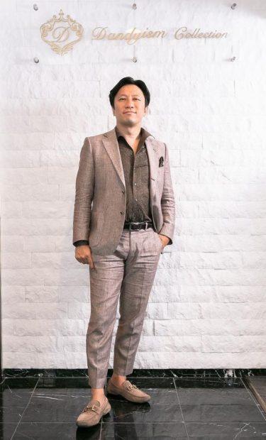黒飛一志様 自営業 42歳