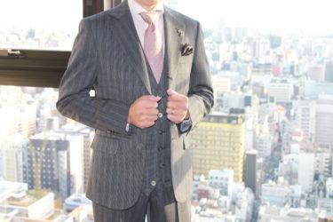 体型別スーツの着こなしのコツ【やせ型】